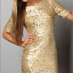 Lulus Global DJ Sequin dress - M